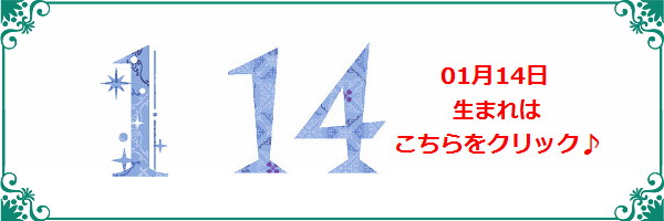 14日生まれ